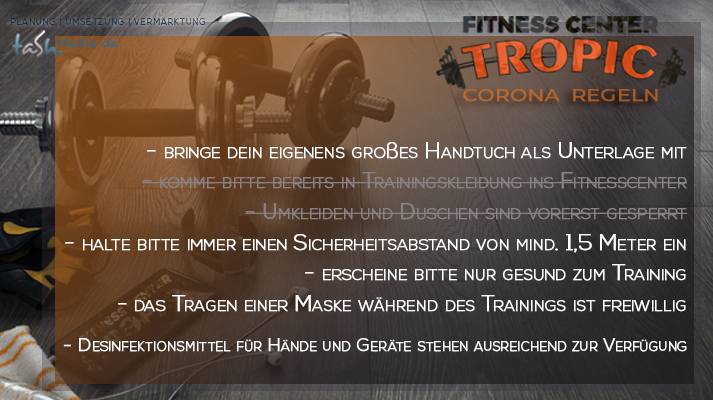 Fitnessregeln Bad Sachsa